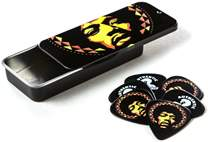 DUNLOP Jimi Hendrix Pick Tin Aura Mandala