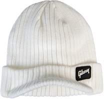 GIBSON Radar Knit Beanie White