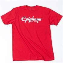EPIPHONE Logo T-Shirt Red L