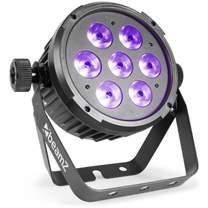 BEAMZ LED FlatPAR reflektor 7x10W HCL
