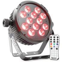 BEAMZ LED FlatPAR reflektor 12x6W QCL