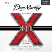 DEAN MARKLEY 2512 CL 9-46 Helix Electric 009-011-016-026-036-046 CUSTOM LIGHT