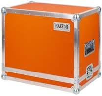 RAZZOR CASES Orange Rocker 32 Combo 20mm Case