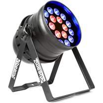 BEAMZ LED PAR 64 reflektor 18x 15W RGBAW
