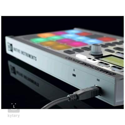NATIVE INSTRUMENTS Maschine Mikro MK2 WH MIDI kontroler, groove software