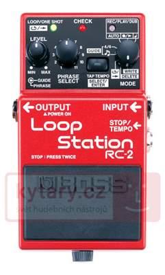 BOSS RC-2 Loop Station Kytarový podlahový efekt