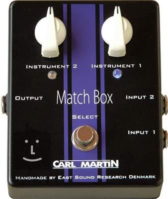CARL MARTIN Match Box Signálový přepínač