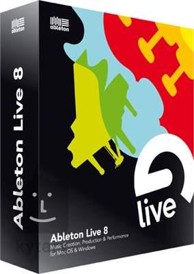 ABLETON Ableton Live 8 Software - Audio, multitrack