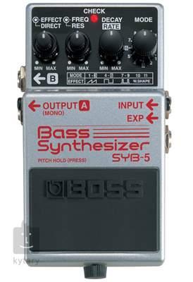 BOSS SYB 5 Baskytarový syntezátor