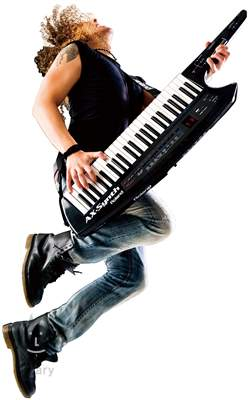 ROLAND AX Synth BK Syntezátor na rameno