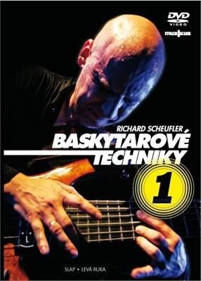 MUZIKUS Richard Scheufler - Baskytarové techniky 1 Škola hry na baskytaru
