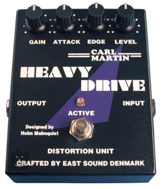 CARL MARTIN Heavy Drive Kytarový efekt