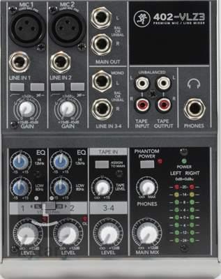 MACKIE 402 VLZ3 Analogový mixážní pult