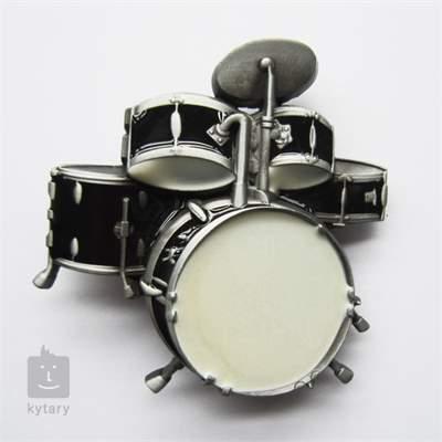 KYTARY.CZ Spona bicí černá Oblečení pro muzikanty
