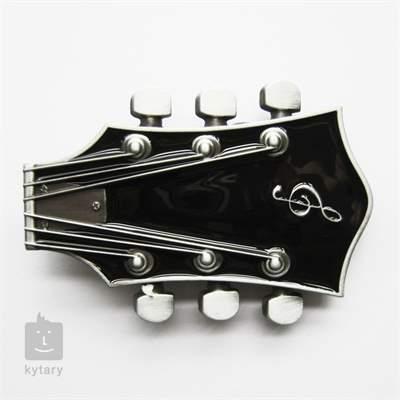 KYTARY.CZ Spona kytarová hlava černá Oblečení pro muzikanty