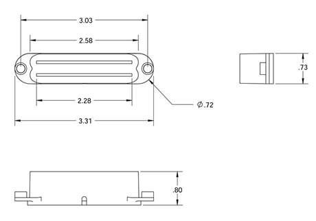 SEYMOUR DUNCAN SCR-1N BLK Snímač pro elektrickou kytaru