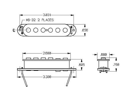 SEYMOUR DUNCAN SSL-7 RW/RP Snímač pro elektrickou kytaru