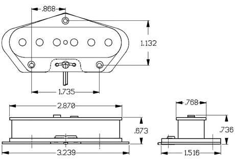 SEYMOUR DUNCAN STL-1 Snímač pro elektrickou kytaru