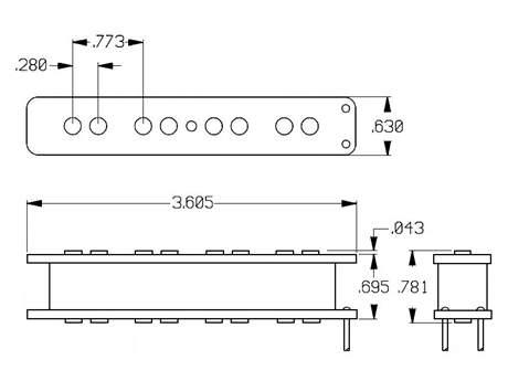 SEYMOUR DUNCAN SJB-3B BLK Snímač pro elektrickou baskytaru