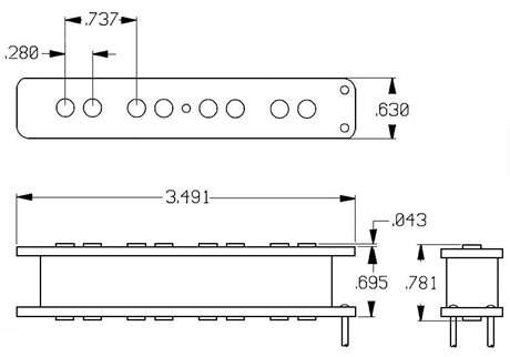 SEYMOUR DUNCAN SJB-1N BLK Snímač pro elektrickou baskytaru