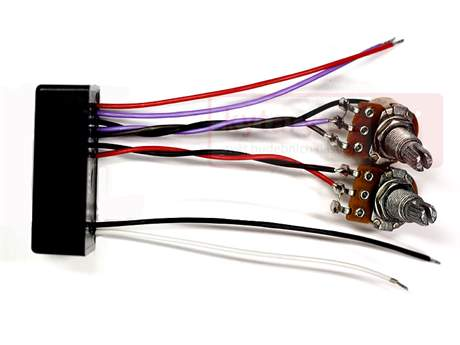 MICHALÍK BP-4 Aktivní elektronika pro baskytaru