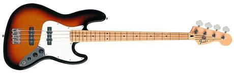 FENDER Standard Jazz Bass MN BSB Elektrická baskytara