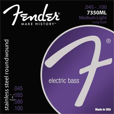 FENDER 7350ML Struny pro baskytaru