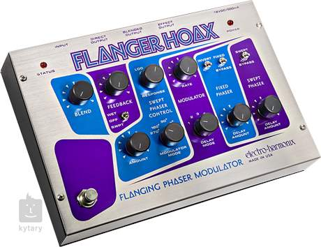 ELECTRO HARMONIX Flanger Hoax Kytarový efekt