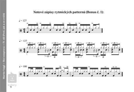 MUZIKUS Bicí souprava - proč, jak a co cvičit 4 - DVD - Martin Vajgl Škola hry na bicí