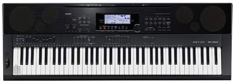 CASIO WK-7500 Klávesy, workstation, USB, SD
