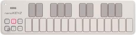 KORG nanoKEY2 WH USB/MIDI keyboard