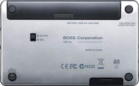 BOSS MICRO BR® BR-80 Kapesní rekordér