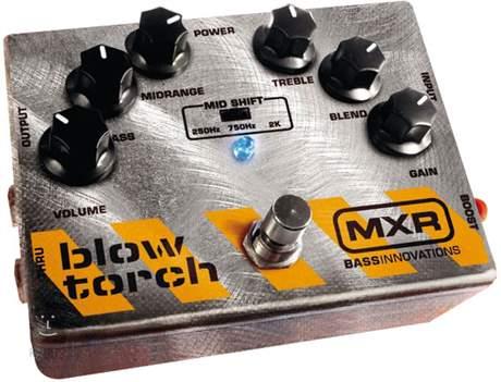 DUNLOP MXR M181 Bass Blow Torch Baskytarový efekt