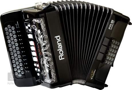 ROLAND FR-18D-BK Digitální akordeon, V-Accordion