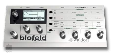 WALDORF Blofeld Virtuální analogový syntezátor