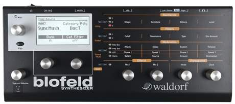WALDORF Blofeld Black Virtuální analogový syntezátor