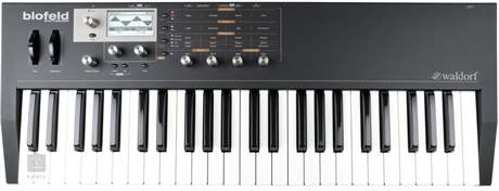 WALDORF Blofeld Keyboard Black Virtuálně analogový syntezátor