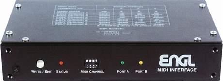 ENGL Z-7 Midi Interface MIDI přepínač