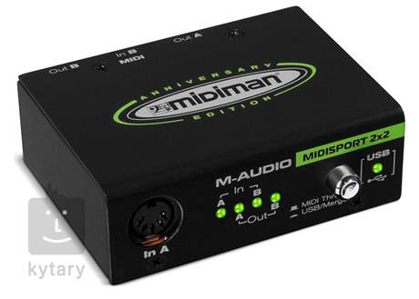 M-AUDIO MIDISPORT 2x2 MIDI převodník