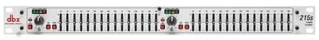 DBX 215S Grafický ekvalizér