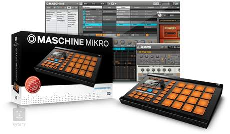 NATIVE INSTRUMENTS Maschine Mikro MIDI kontroler, groove software