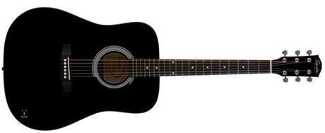 FENDER SQUIER SA-105  BK Akustická kytara