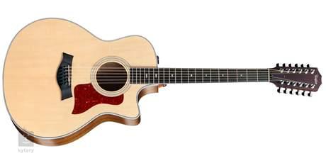 TAYLOR 456ce Dvanáctistrunná elektroakustická kytara