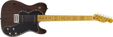 FENDER Modern Player Telecaster Thinline Deluxe MN BT Elektrická kytara