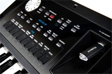 ROLAND BK-5 Keyboard, aranžér