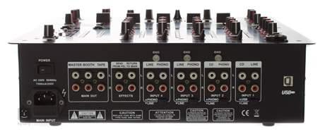 KAIFAT DJM500U Mixážní pult