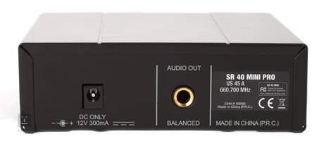 AKG WMS40 Mini Vocal US45C Vokální bezdrátový set