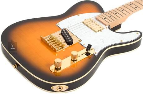 JAY TURSER JT-LTCUSTOMDLX-ANS Elektrická kytara