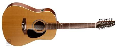 SEAGULL Coastline S12 Cedar QI (poškozené) Dvanáctistrunná elektroakustická kytara