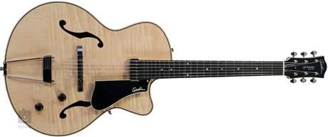 GODIN 5th Avenue Jazz Natural Flame HG Semiakustická kytara